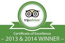 tripadvisor certificate 20132014